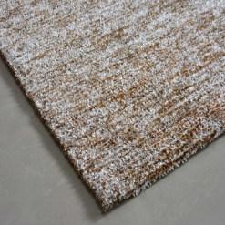 Solid Handloom Beige Shaded Rug/ Carpets 3 x 5 Feet By Avioni