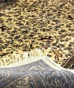 Persian Carpet – Silk Luxury Living Room Rug – 3X5 Feet -Avioni