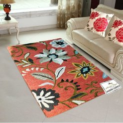 Bright Floral Area Rugs | Loop Pile Carpets | Avioni