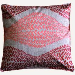 Cushion Covers in Pink Floral 16 X 16 Inch (set of 5) by Avioni