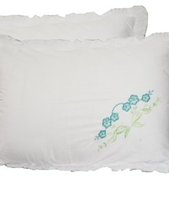 Pillow Cases – Beautiful Pillowcase 100% Cotton – Set of 2 – 67 X 45 Cms –  Avioni