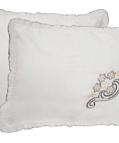 Pillow Cases - Beautiful Pillow Cover 100% Cotton - Set of 2  - 70 X 47 Cms - Avioni