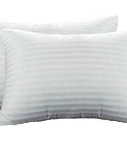 Pillow Cases – 100% Cotton in White Design – Set of 2 -Avioni