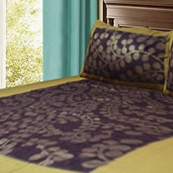 Double Bedsheet 100% Cotton Jaipuri Printed By Avioni (90 X 95 Inches)