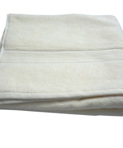 Bath Towels 100% Cotton Cream Color Export Quality