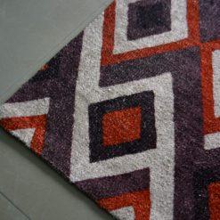 Avioni Carpet – Faux Silk- Neo Modern Collection Geomatric Design- 90cm x 150cm (~3×5 Feet)