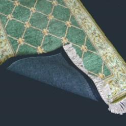 Silk Carpet Persian Design Collection Green  – Living Room Rug – 3×5 Feet  (90 x 150 cms)-Avioni