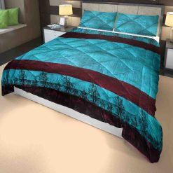 Microfiber Filling Heavy Weight Quilt(Razai) For Winters In Peacock Colour- Chenille