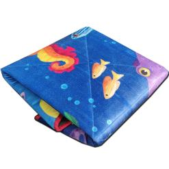 Baby mat / Kids Rugs Quilted- Deep In the Ocean Design-Avioni
