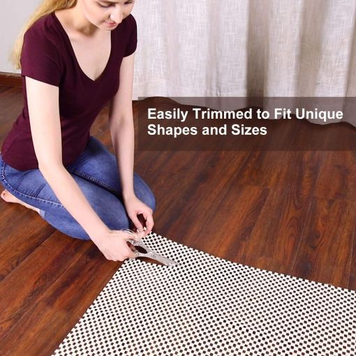Original Area Rug Gripper Pad for  Floors, Provides Protection and Cushion for Area Rugs and Floors-92×152 cm (3×5 Feet)