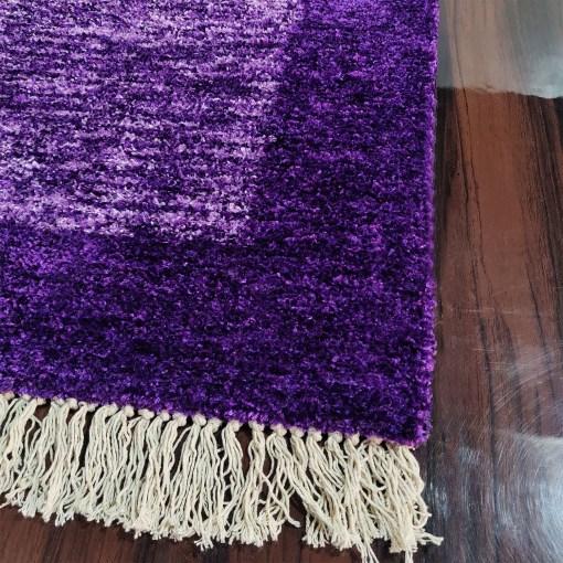 Avioni Carpets for Living Room/Pooja Room – Neo Modern Collection Purple Tid-Die Carpet/Rug – 90cm x 150cm (~3×5 Feet) (Copy)