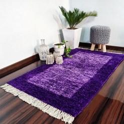 Avioni Carpets for Living Room/Pooja Room – Neo Modern Collection Purple Tid-Die Carpet/Rug – 92x 152 cm (3×5 Feet) (Copy)