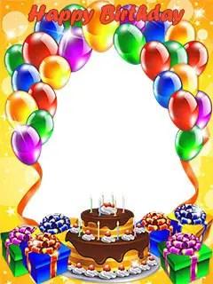 Birthday Photo Frames 50 Frames
