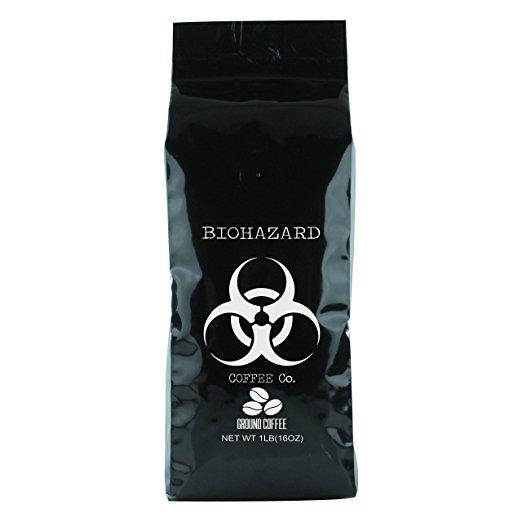Biohazard strong coffee