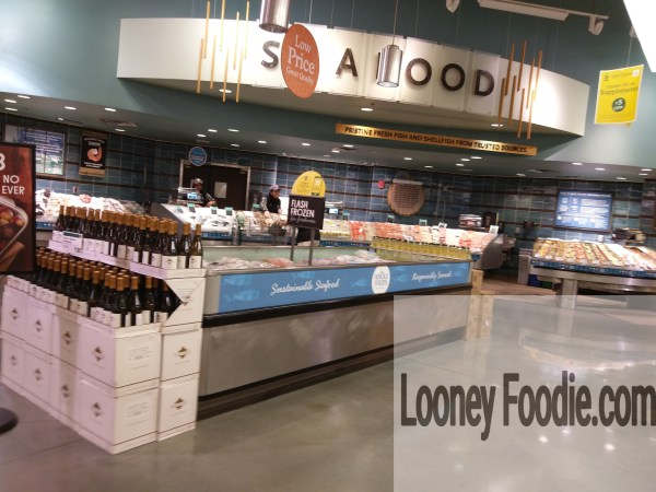 Whole Foods Market Seafood counter