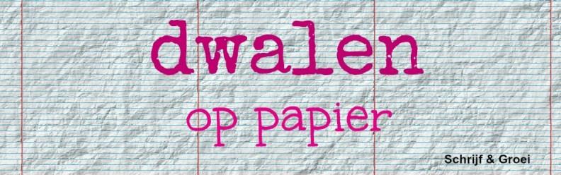 Dwalen op papier