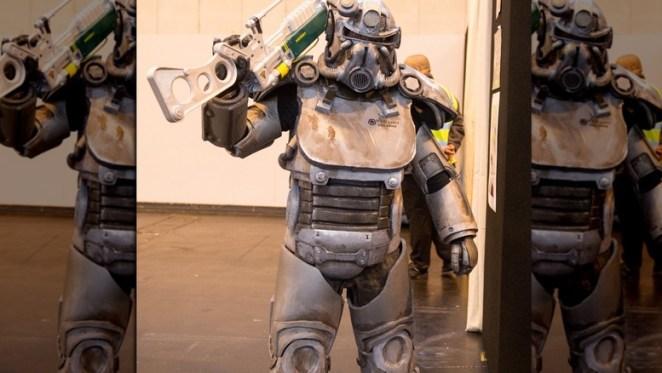 Power armor cosplay
