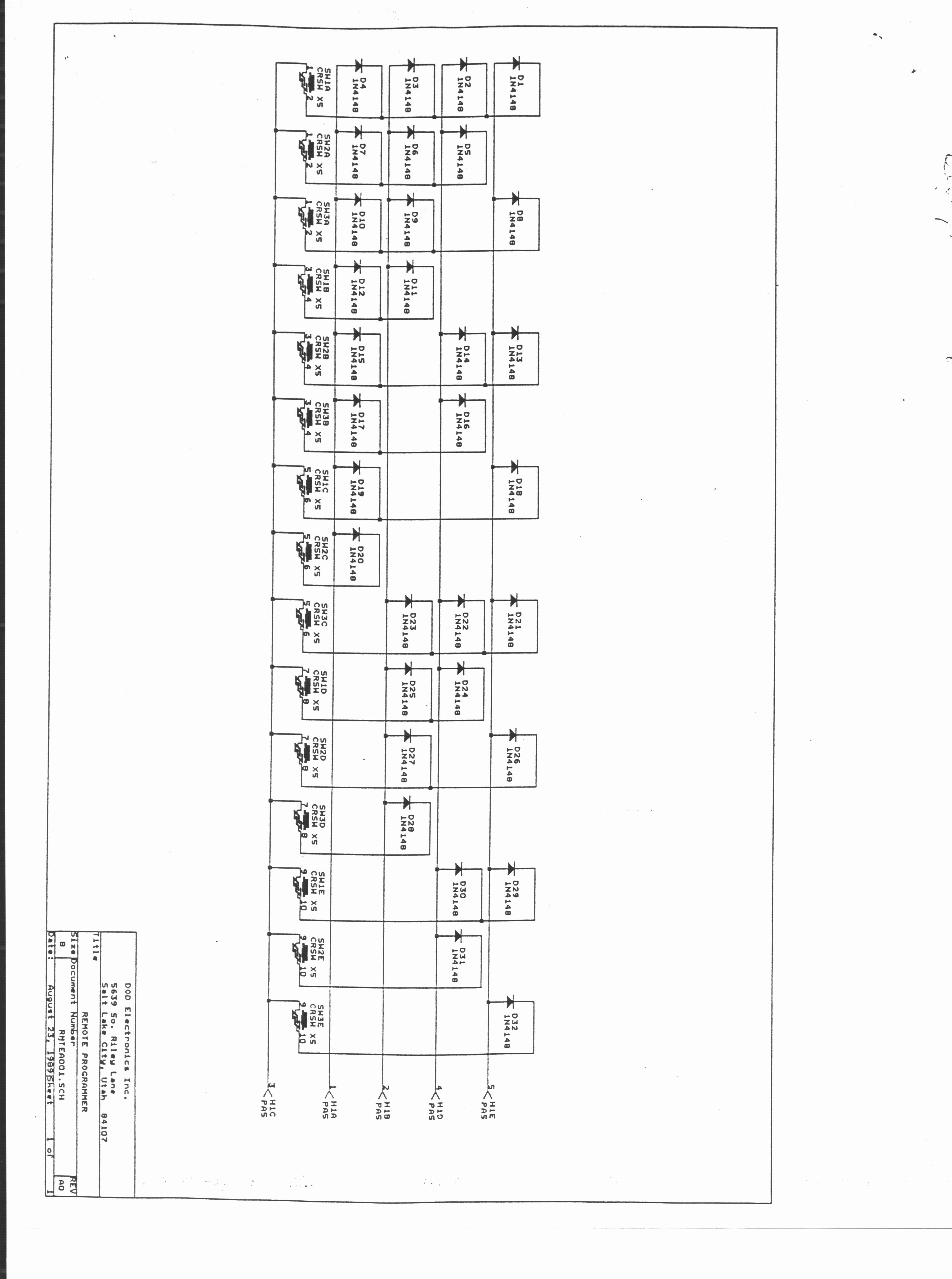 Midi Pedal Schematics