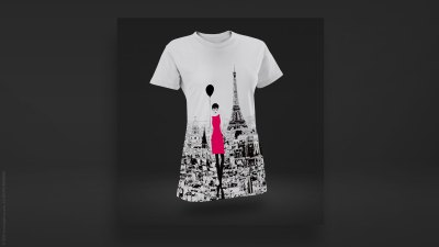 t-shirt-black-balloon-paris