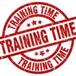 Trainingstijd zaterdag