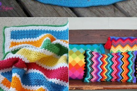 colourful crochet projects