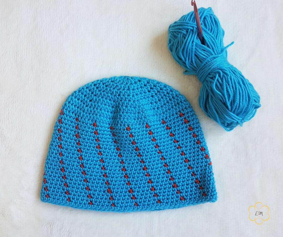Simple Mens Beanie Free Crochet Patterns