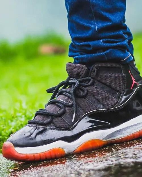 Nike Air Jordan 11 Shoelace Size Guide