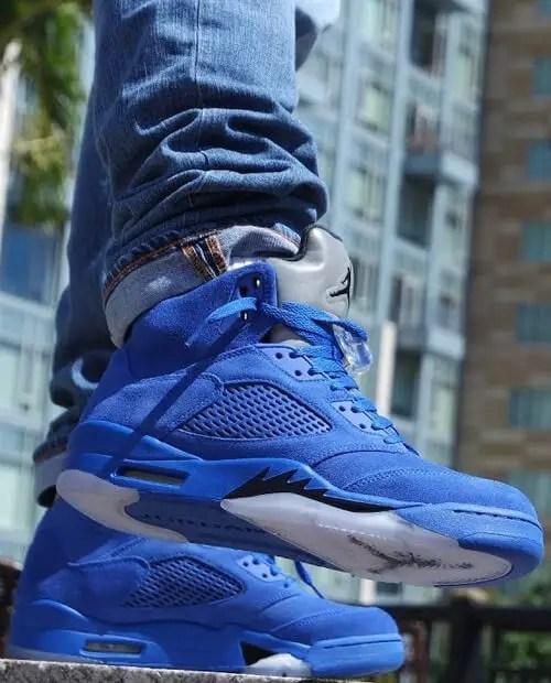 Jordan 5 blue