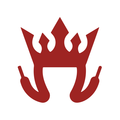 Loop King Laces Secondary Logo Symbolic Crown