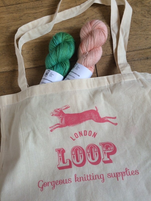Loop Shopper with Old Maiden Aunt. Loop, London. www.loopknitlounge.com