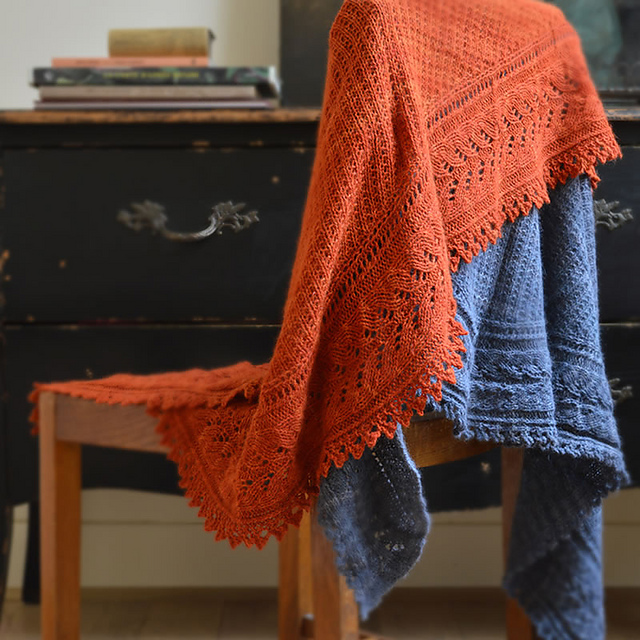Autumn Leaf Shawl