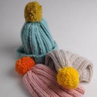 Simple Bobble Hat