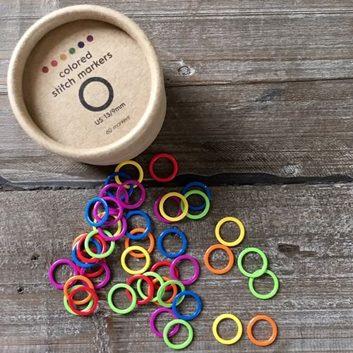 Coloured stitch markers