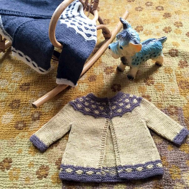 Mabel Cardigan by Fiona Alice