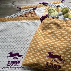 Loop Block Printed Project Bags