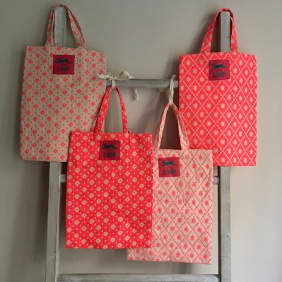 Pop Pink Project bags at loop london