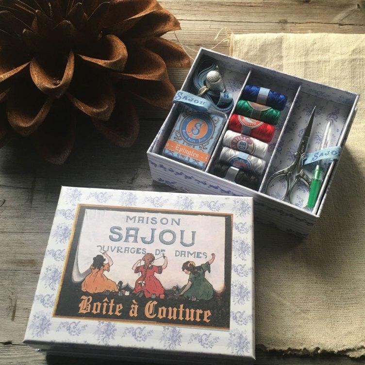 Sajou small sewing box set at Loop London
