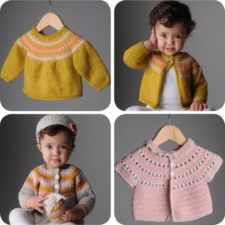 Swaddle baby knit and crochet patterns at Loop London