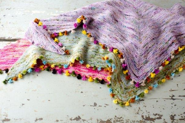 Tiny Tassels shawlettes at Loop London