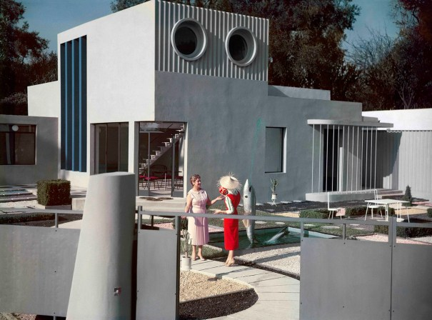 Still from film Mon Oncle by Jacques Tati