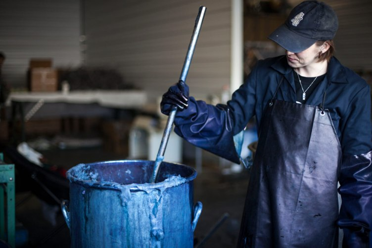 Green Matters Natural Dye Company Indigo dying BT Ranch
