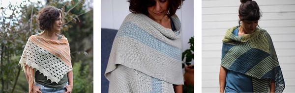 Libby Jonson shawls at Loop London