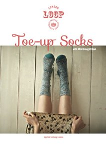 Toe Up Socks at Loop London