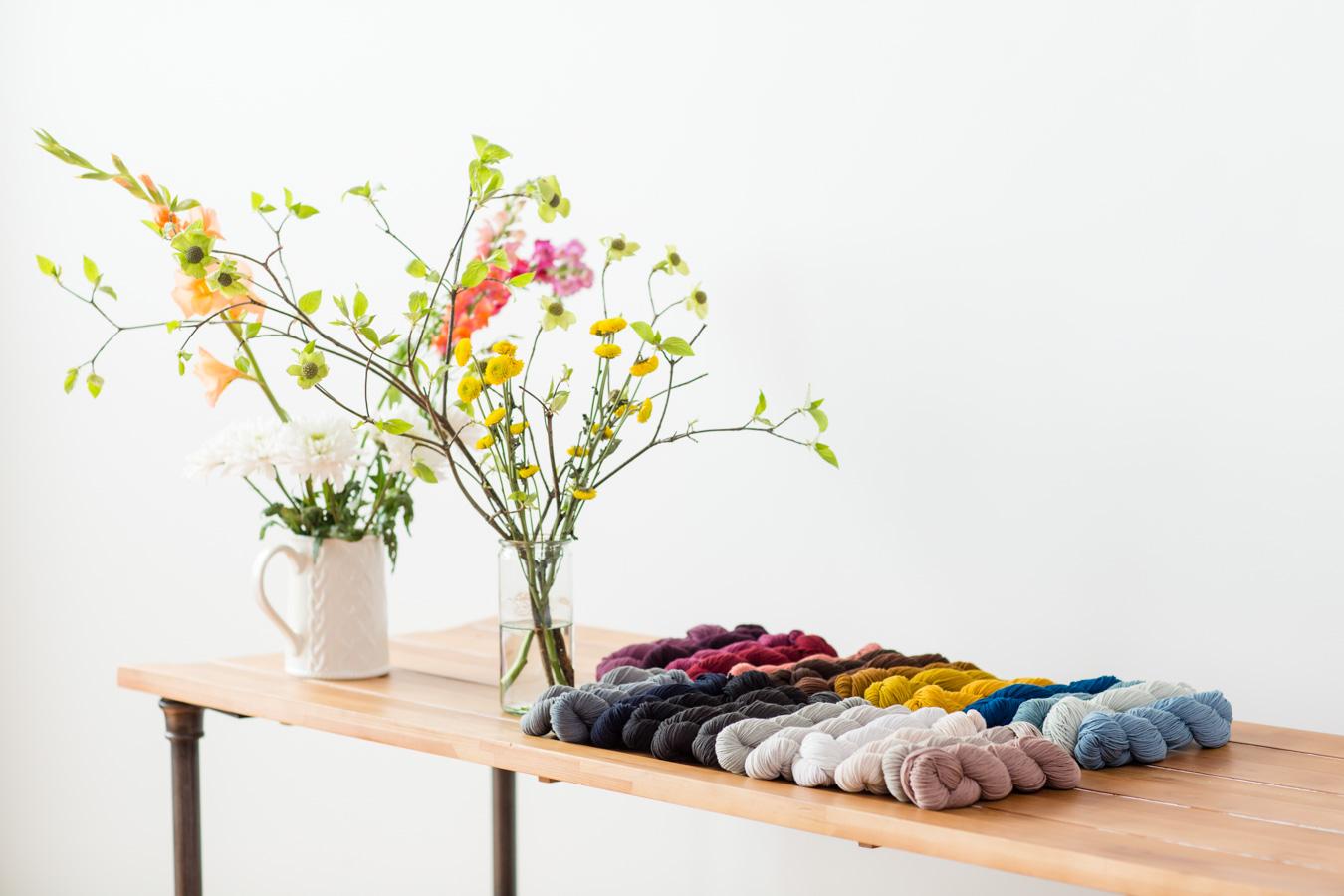 Brooklyn Tweed's New Core Yarn ~ Peerie