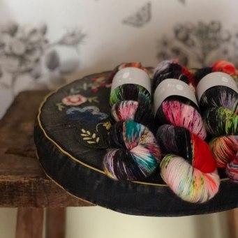 Qing Fibres at Loop Knitting London