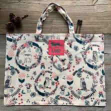 Woodland shopper & project bag at Loop London