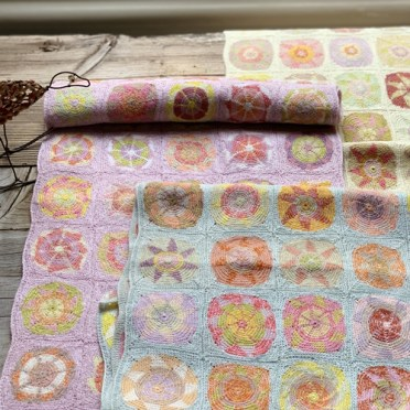Sophie Digard Dreydel crochet Shawls at Loop London