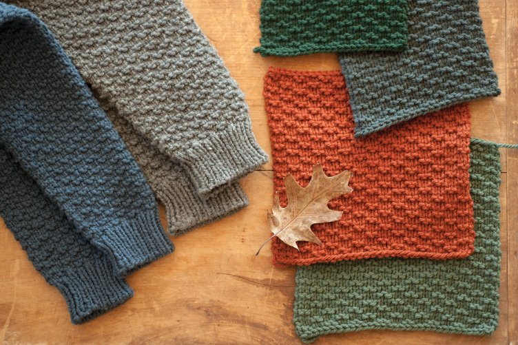 Quince & Co Gail and Burl colour alternatives