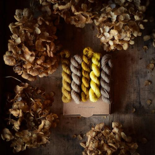 Teinture Sauvage Wool Threads Yellow at Loop London