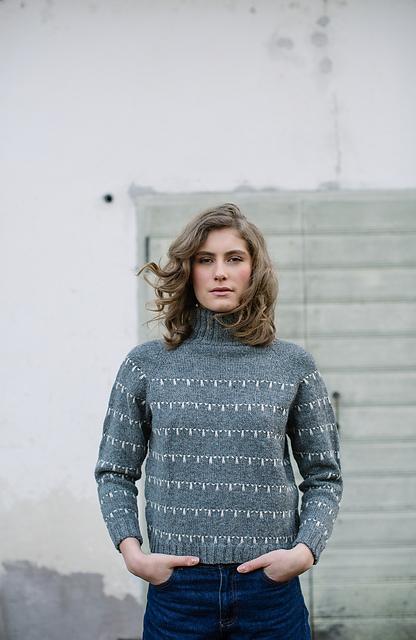 laine 4 stalactite sweater on Ravelry